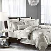 Hudson Park Collection Luxe Aurora King Duvet Cover Smoke Gray