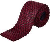 Cole Haan Navy & Red Knit Silk Tie