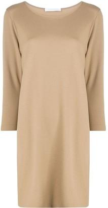 Harris Wharf London Long-Sleeve Jumper Dress
