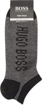 BOSS Cotton trainer socks pack of two