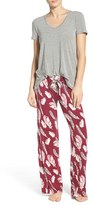PJ Salvage Women's Jersey Pajamas