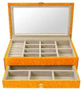 """Jonathan Adler Oil-Drop Lacquer Jewelry Box """"Toulouse"""""""