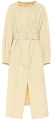 Jil Sander Belted cotton coat