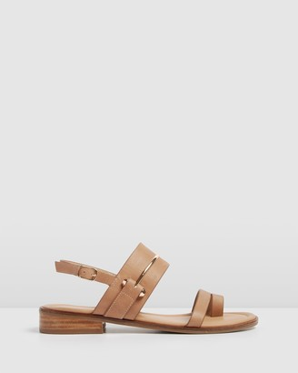 Jo Mercer - Women's Neutrals Flat Sandals - Haven Flat Sandals - Size One Size, 37 at The Iconic