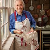 Sur La Table Jacques Pépin Collection Chicken Linen Kitchen Apron