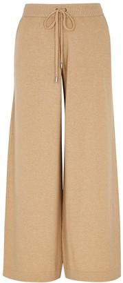 Johnstons of Elgin Colette Camel Cashmere Sweatpants