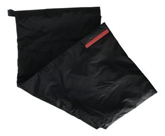Prada Black Polyester Scarves
