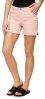 Sanctuary Women's Frayed Side Slit Denim Shorts