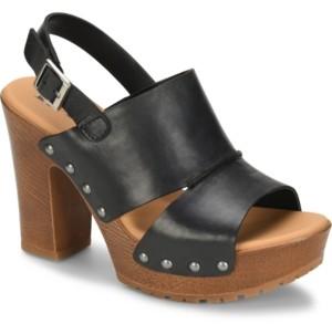 KORKS Kristian Wood Bottom Sandals Women's Shoes