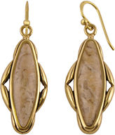 Barse BIJOUX BAR Art Smith by Genuine Jasper Brass Earrings