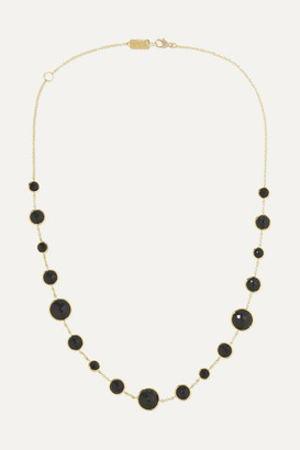 Ippolita Lollipop Lollitini 18-karat Gold Onyx Necklace