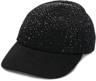 Diesel Swarovski Crystal Baseball Cap
