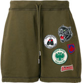 DSQUARED2 patches track shorts