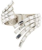 Giuseppe Zanotti Design Wrap Around Crystal Cuff Bracelet