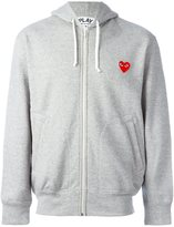 Comme des Garcons zipped hoodie - men - Cotton - S