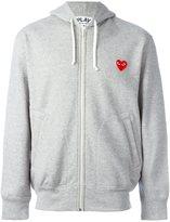 Comme des Garcons zipped hoodie - men - Cotton - S