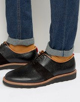 Zign Shoes Leather Suede Mix Derby Shoes