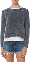 Generation Love Benji Double Layer Sweater With Holes