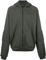 Amen zip up hoodie - men - Cotton - 48