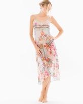 Soma Intimates Jules Chiffon Floral Print Nightgown