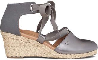 Vionic Kaitlyn Leather Wedge Sandal