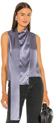 Amanda Uprichard Sleeveless Philippe Top