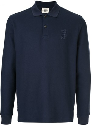 Kent & Curwen Long Sleeve Polo Shirt