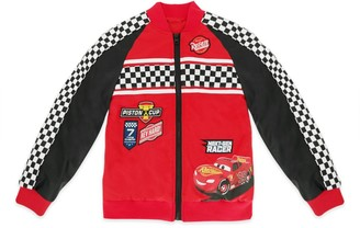Disney Lightning McQueen Varsity Jacket for Kids