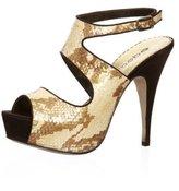 Stacia Platform Snake Sandals
