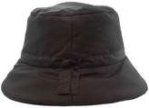 Nine West Black Quilted Waterproof Bucket Hat