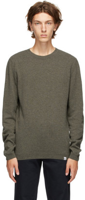 Norse Projects Green Wool Sigfred Sweater