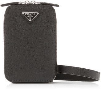 Prada Harness Leather Crossbody Bag