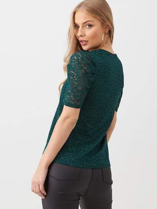 Very Lace Blouse - Green