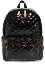 MZ Wallace 'Small Metro' Quilted Oxford Nylon Backpack - Black