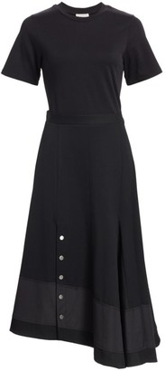 3.1 Phillip Lim Asymmetric Flare Wool Dress