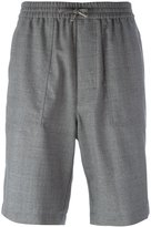 Ami Alexandre Mattiussi elasticated waist Bermuda shorts - men - Wool - 38