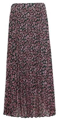 Dorothy Perkins Womens Pink Floral Print Pleat Midi Skirt, Pink
