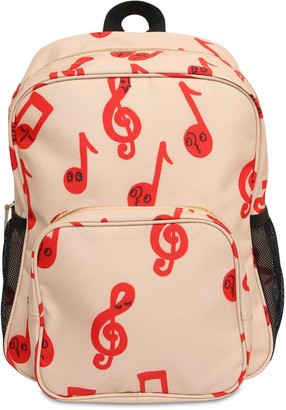 Mini Rodini Music Note Recycled Polyester Backpack