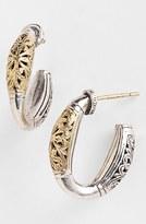 Konstantino Women's 'Classics' Two-Tone Hoop Earrings