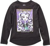 Monster High Girls' Hi-Low Long-Sleeved Top