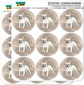 Graphics and More French Bulldog Pet Dog 5cm (2 inch) Scrapbooking Crafting Stickers