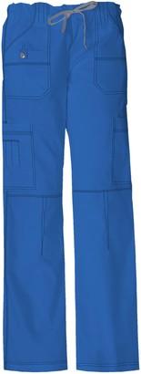 Dickies Women's Plus Size Low Rise Drawstring Cargo Pant