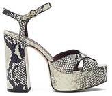 CONTEMPORARY Debbie Platform Sandal