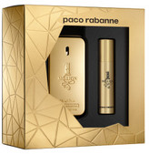 Paco Rabanne 1 Million Set (Edt 50ml + Travel Spray 10ml)