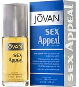 Jovan Sex Appeal by Cologne Spray for Men - 100% Authentic