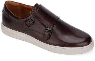 Kenneth Cole Linus Double-Monk Leather Sneakers