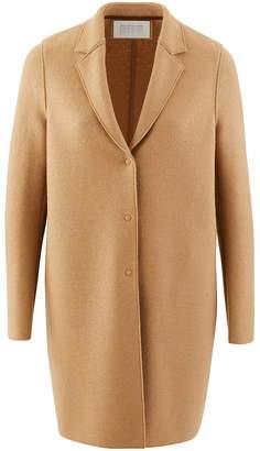 Harris Wharf London Cocoon coat in felted wool