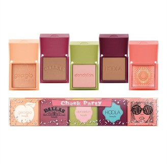 Benefit Cosmetics Cheek Party 5 Mini Blushes And Bronzer