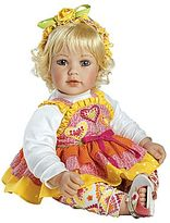 "JCPenney Adora Baby Doll, 20"" ""Jelly Beanz"" Light Blonde Hair/Blue Eyes"