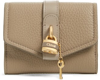 Chloé Aby Calfskin Leather French Wallet